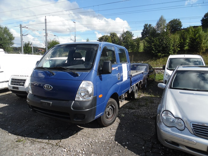 Kia K2500 DKab.-Pick-up 2.5 TCi 82'000 km 4'000 CHF - acheter sur carforyou.ch - 1