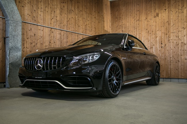 cabriolet Mercedes-Benz C-Klasse C 63 AMG C 63 S AMG Facelift 9G-tronic