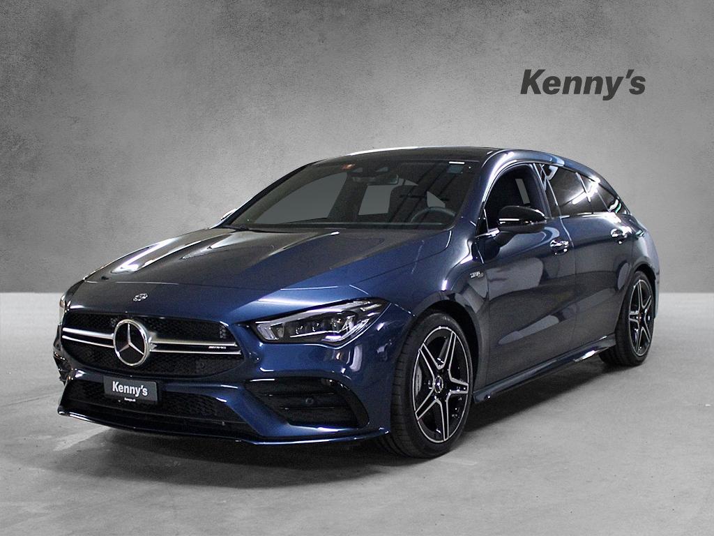Buy Used Car Wagon Mercedes Benz Cla Klasse Cla 35 Amg 4matic Shooting Brake 12000 Km At 61900 Chf On Carforyou Ch