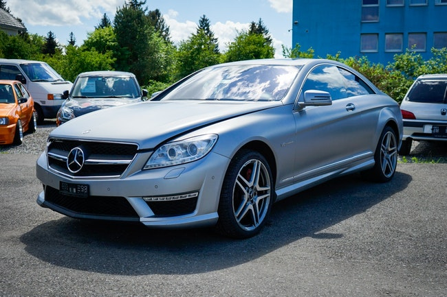 coupe Mercedes-Benz CL 63 AMG Speedshift MCT