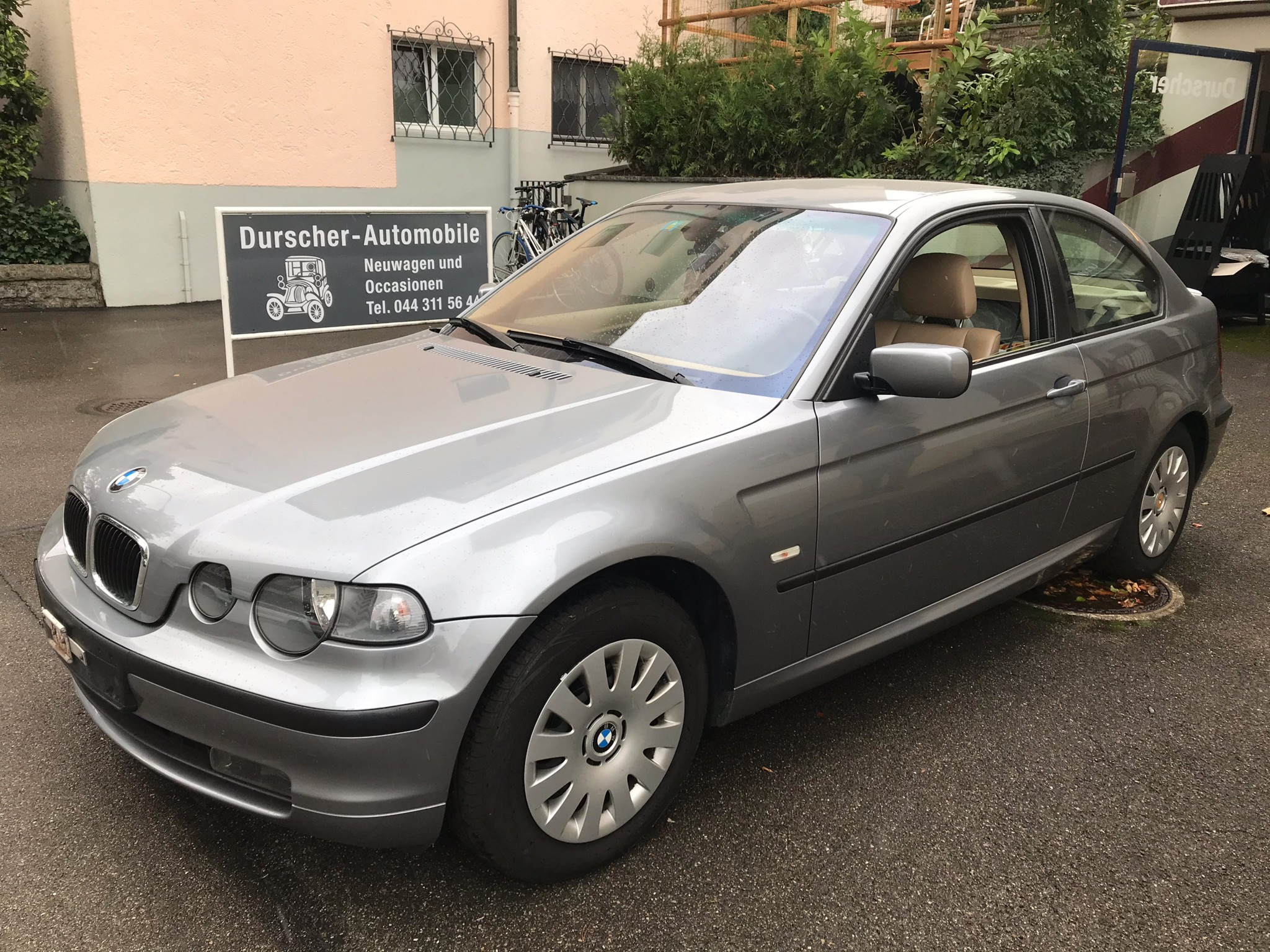 saloon BMW 3er Compact Gepflegter BMW 318ti compact Automat