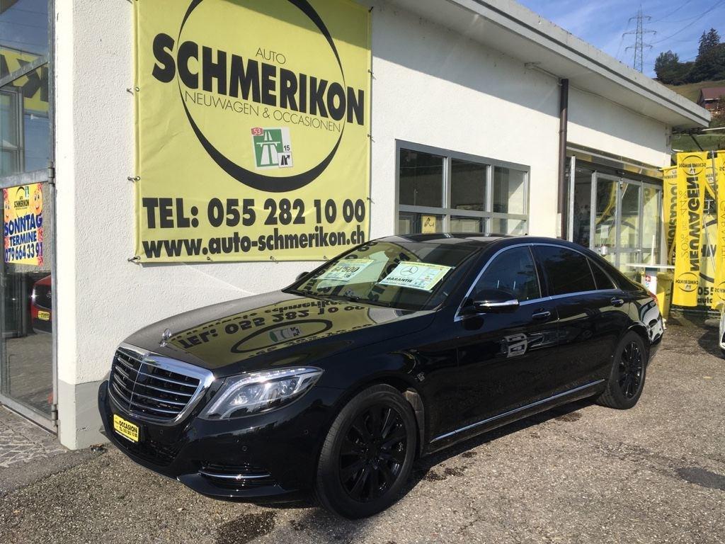 saloon Mercedes-Benz S-Klasse S 350 d L 4Matic 9G-Tronic