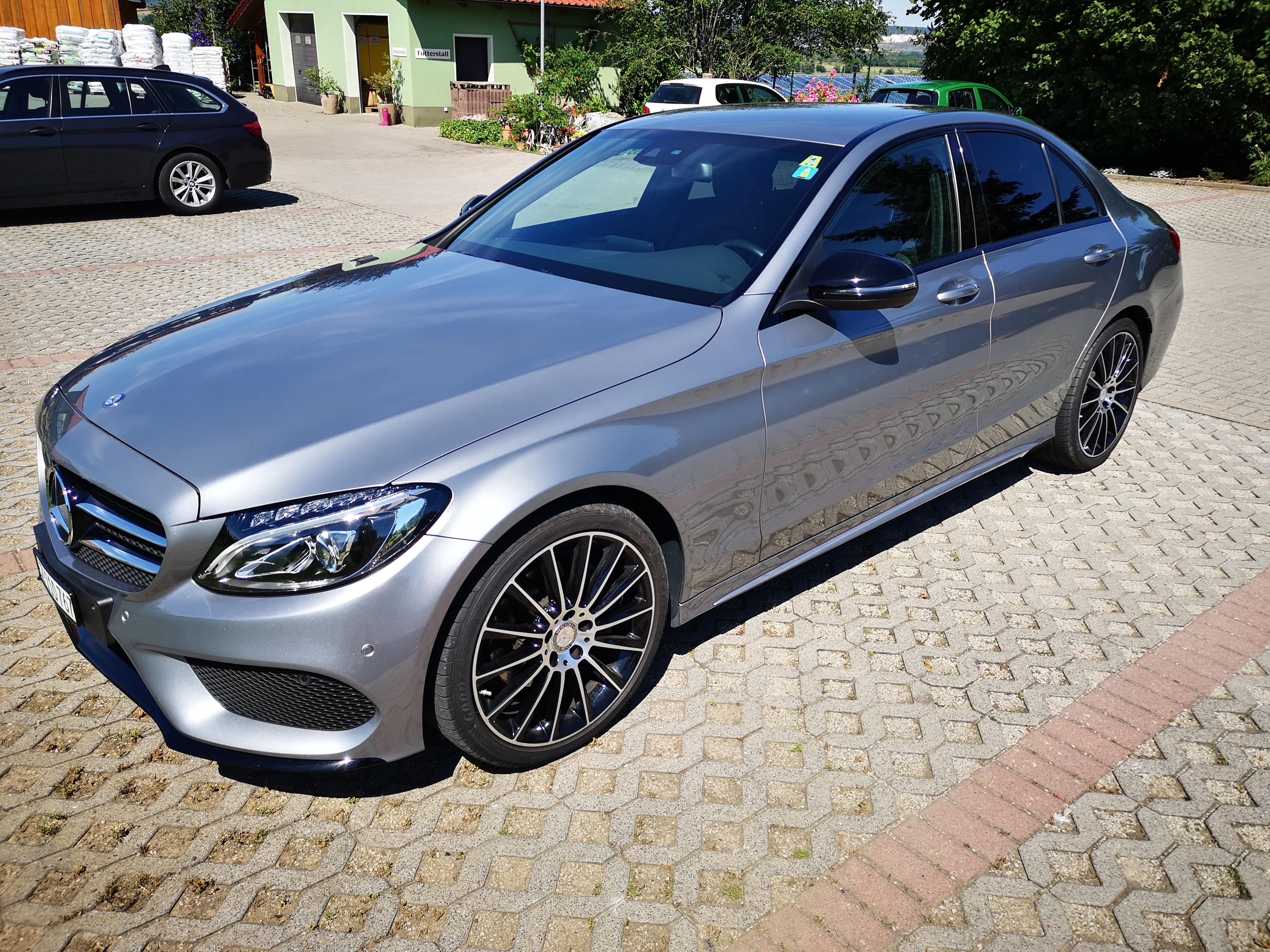 Gebraucht Limousine Mercedes-Benz C-Klasse C 220 d AMG ...