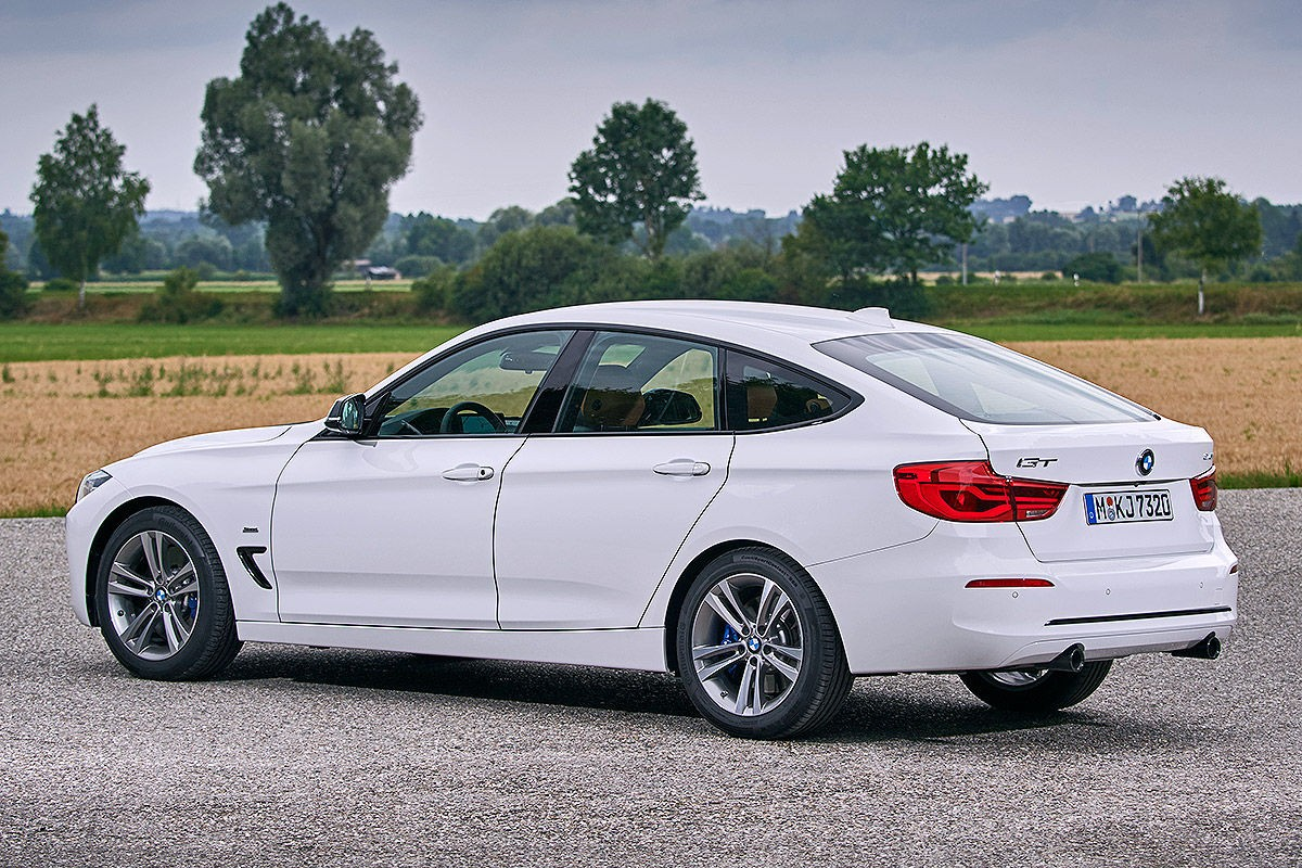 saloon BMW 3er 320d GT Gran Turismo