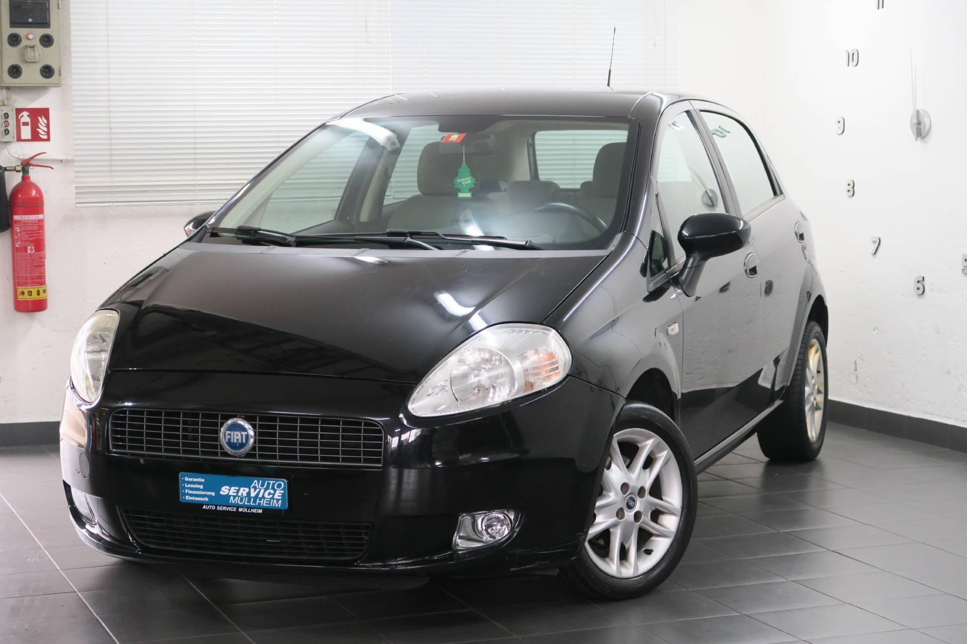 saloon Fiat Punto 1.4 16V 95 Dynamic