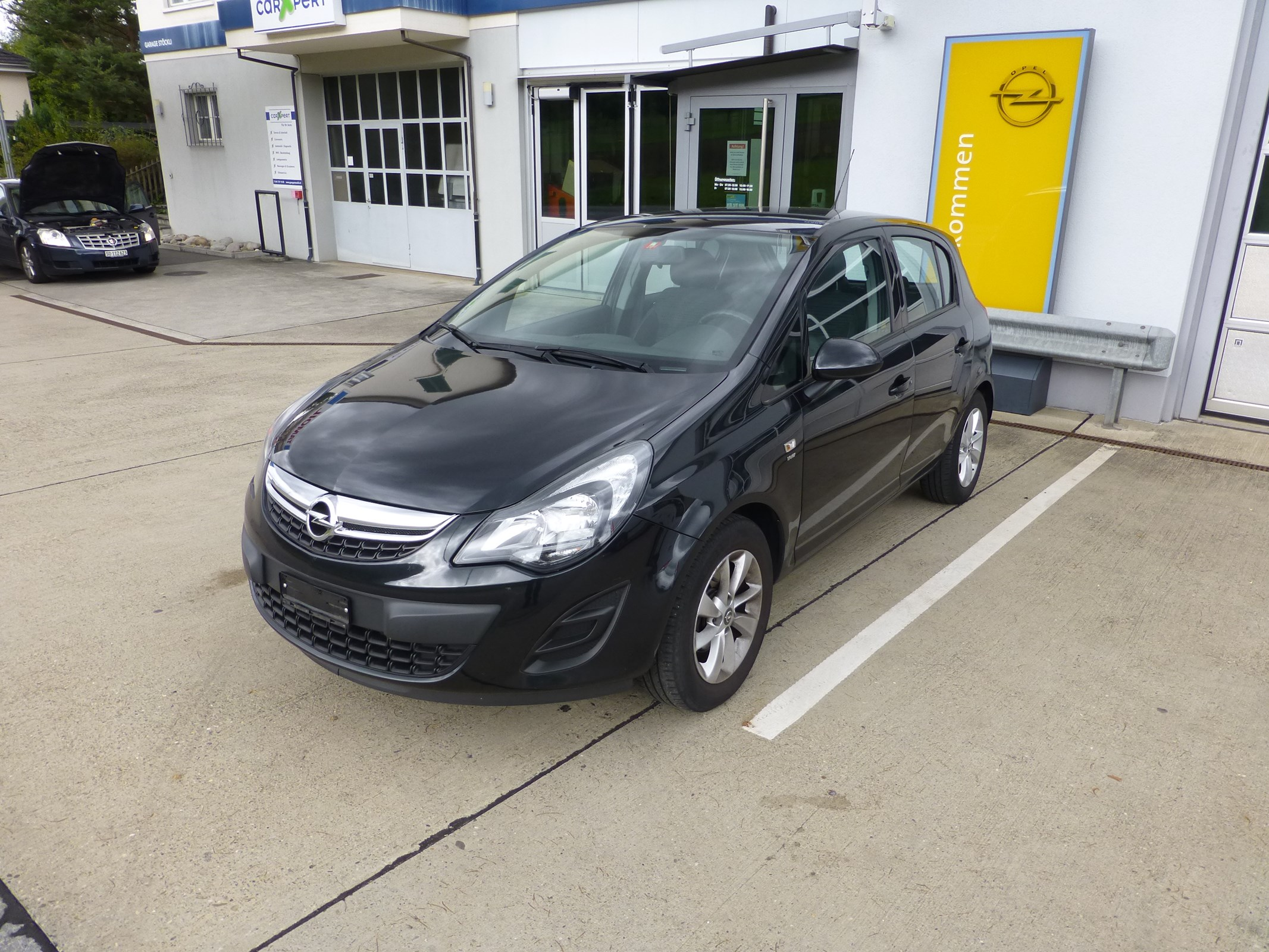 saloon Opel Corsa 1.4 TP Final Edition