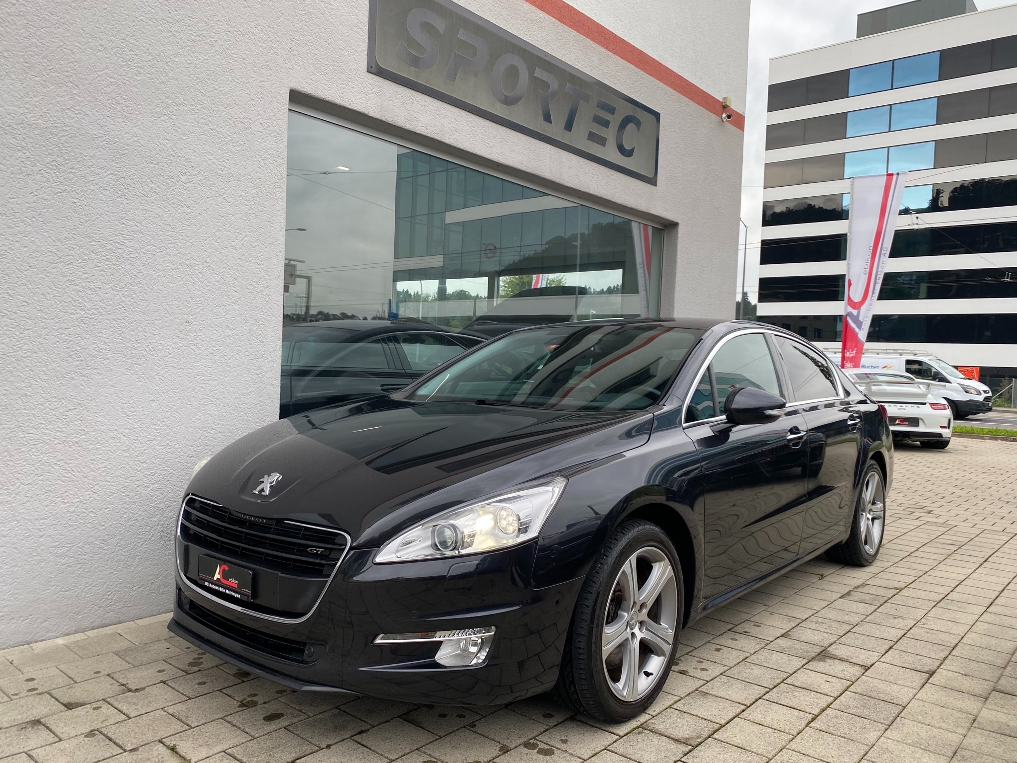 saloon Peugeot 508 2.2 HDI GT Automatic