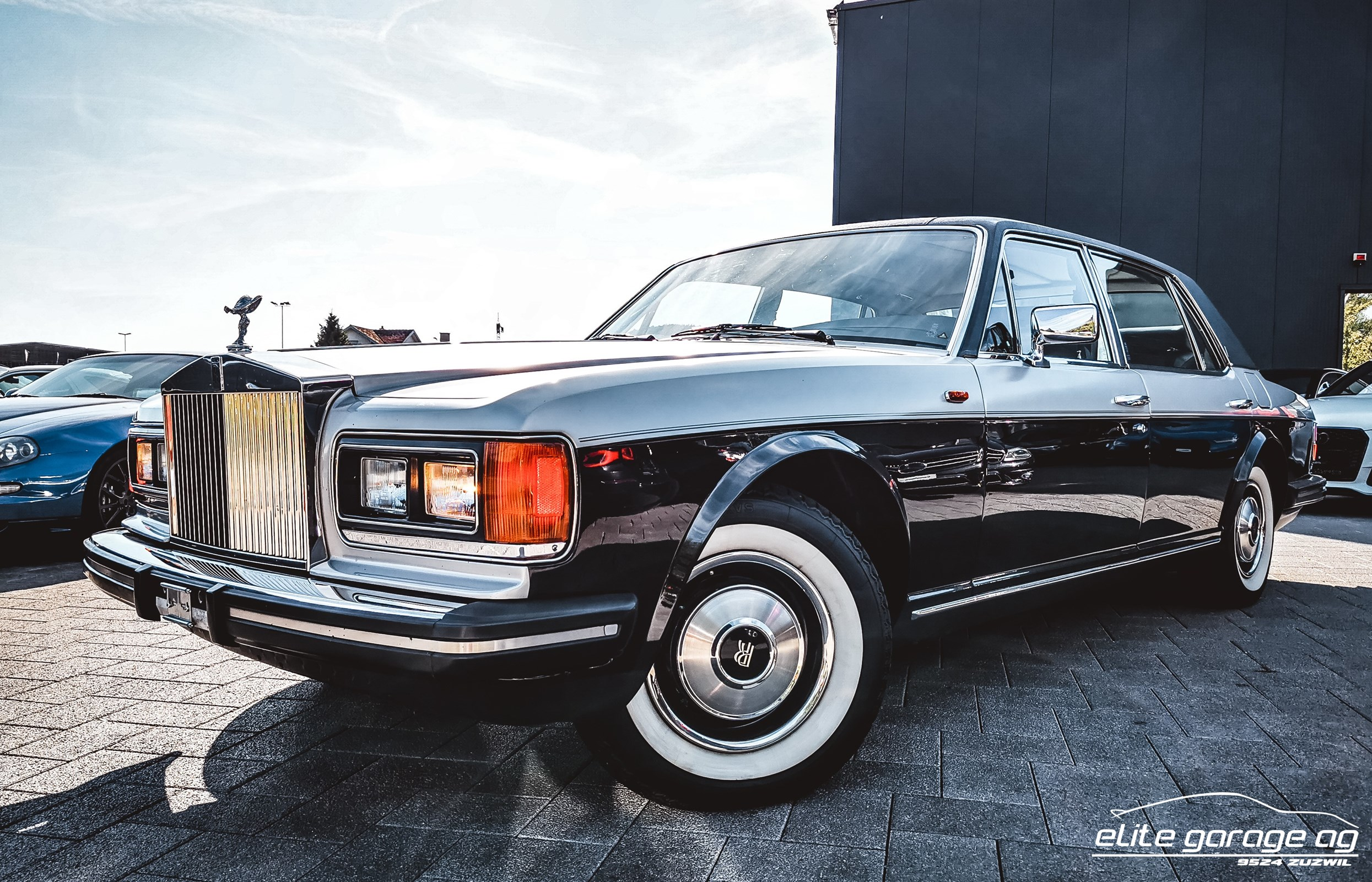 saloon Rolls Royce Silver Spur MK I