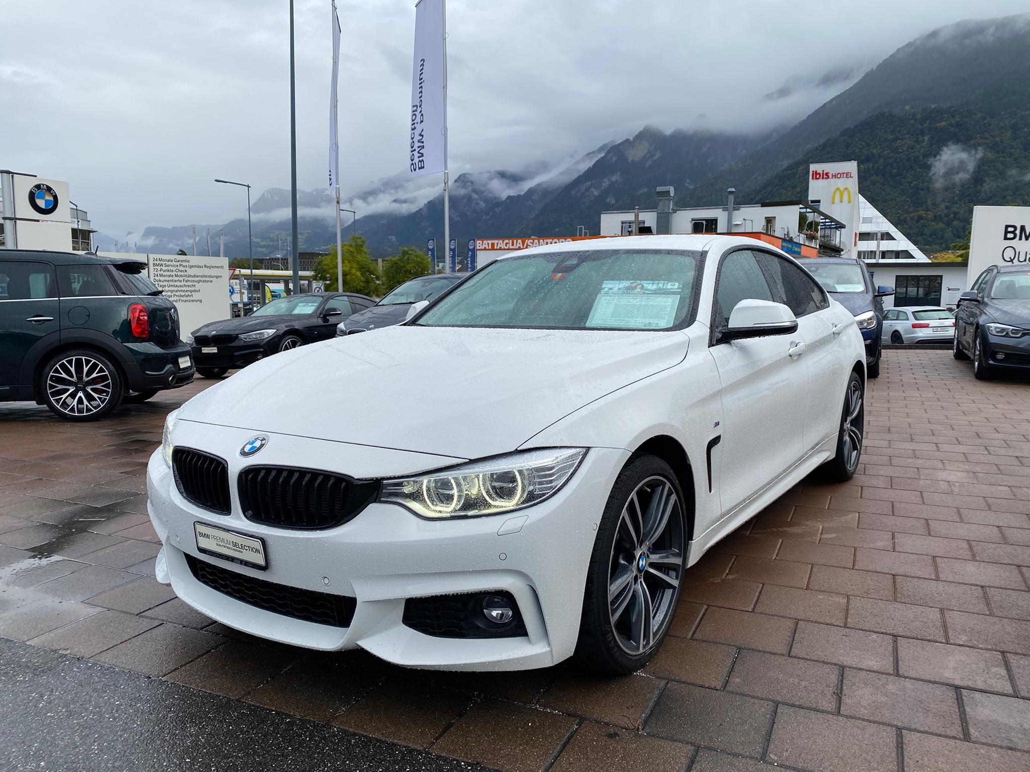 saloon BMW 4er 420i Gr.Cpé xDrive MSport