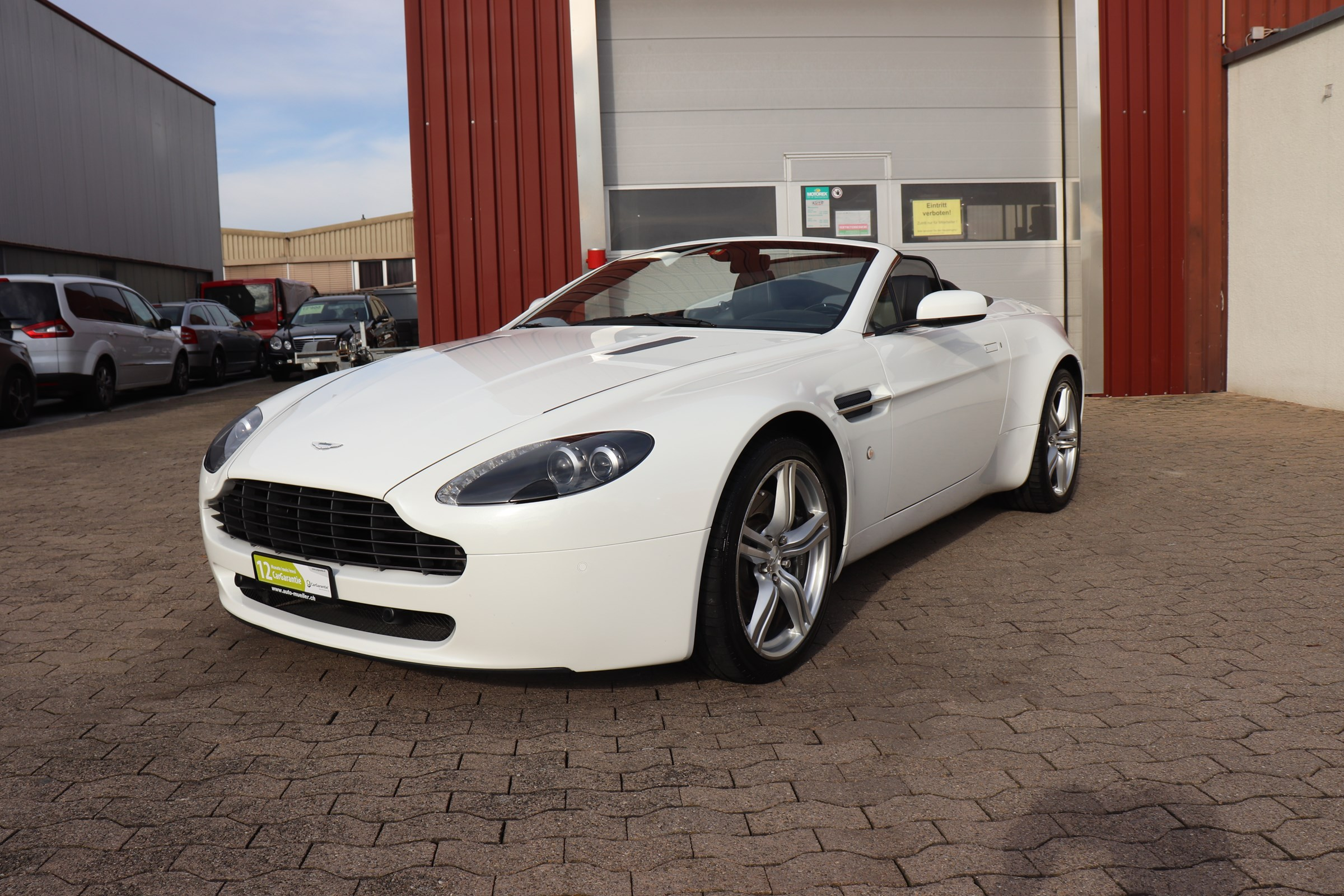 Buy Used Car Convertible Aston Martin V8 V12 Vantage V8 Vantage 4 7 Sportshift 49900 Km At 57900 Chf On Carforyou Ch
