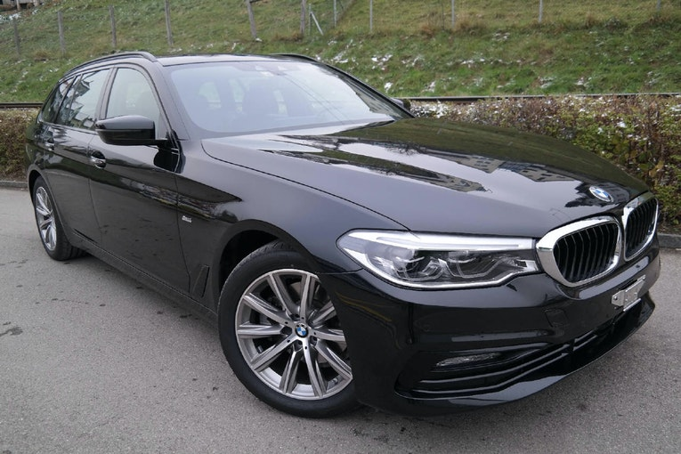 BMW 5er Reihe G31 Touring 520d xDrive paddle 39'000 km CHF42'750 - kaufen auf carforyou.ch - 1