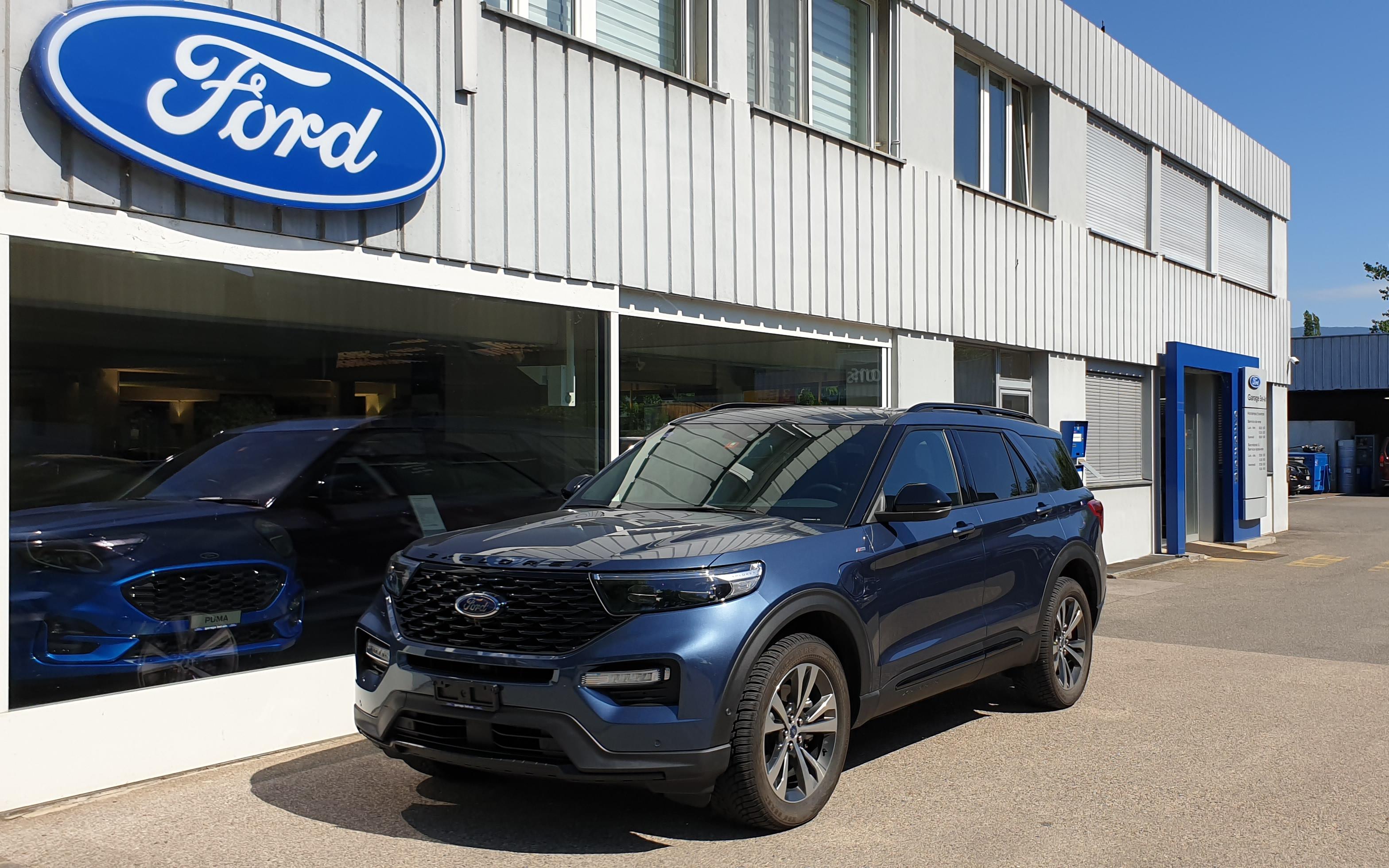 suv Ford Explorer 3.0 V6 Plug-in Hybrid