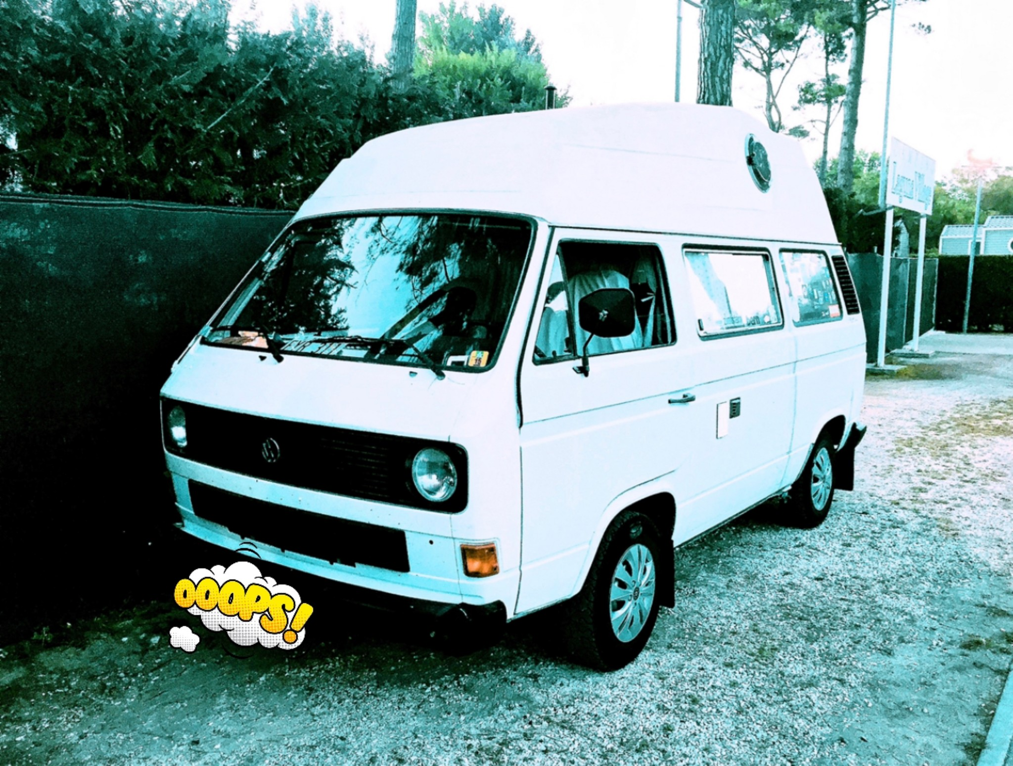 pickup VW Typ 2 T3 Bus