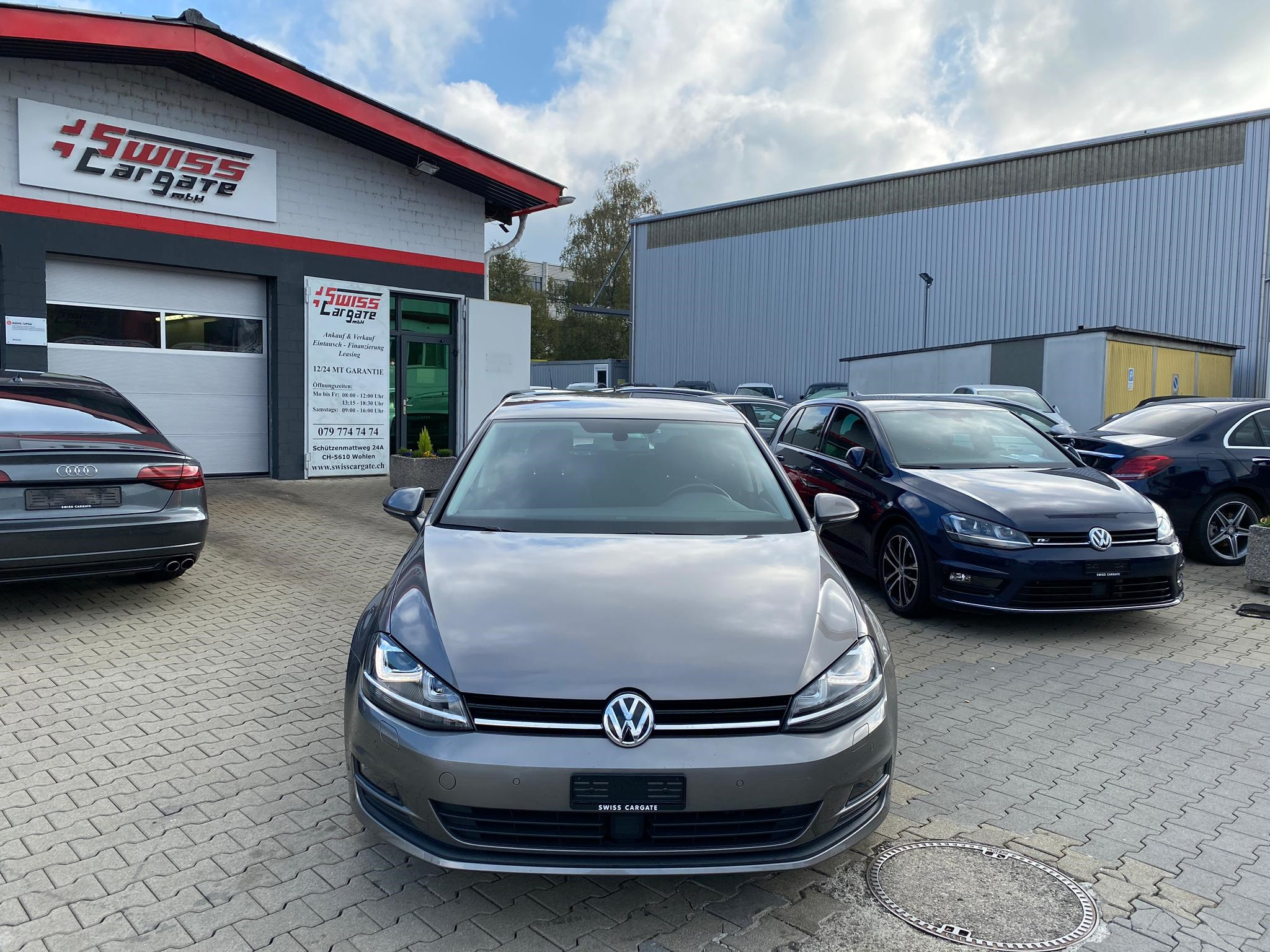 saloon VW Golf 1.4 TSI Cup