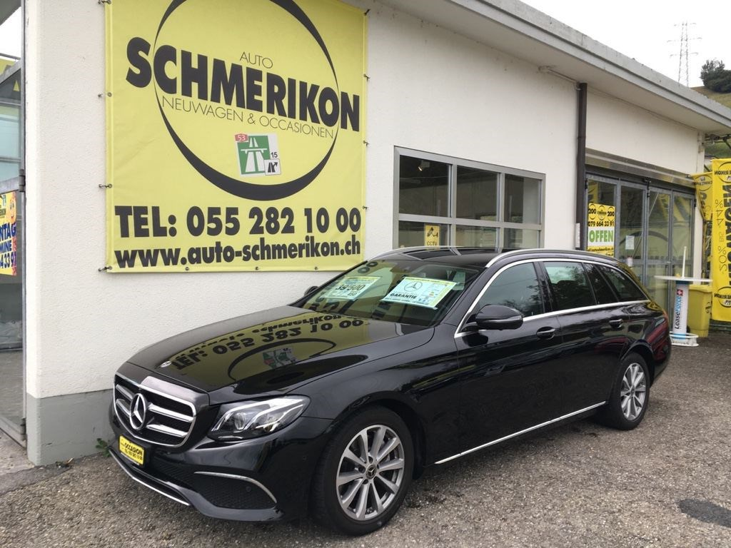 estate Mercedes-Benz E-Klasse E 220 d Swiss Star Avantgarde 4Matic 9G-Tronic