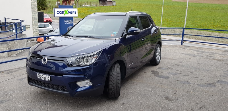 SsangYong Tivoli 1.6 e-XDi Crystal 4WD 17'000 km 15'500 CHF - kaufen auf carforyou.ch - 1