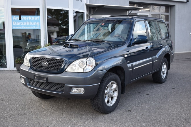 suv Hyundai Terracan 2.9 CRDi