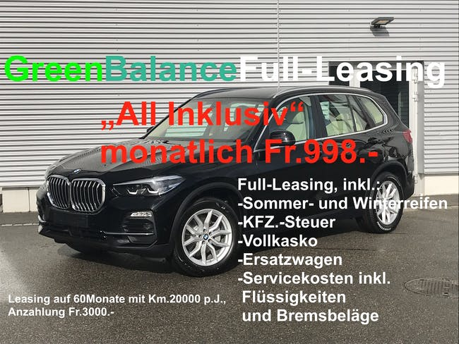 BMW X5 xDrive 25d Steptronic 50 km CHF64'900 - buy on carforyou.ch - 1