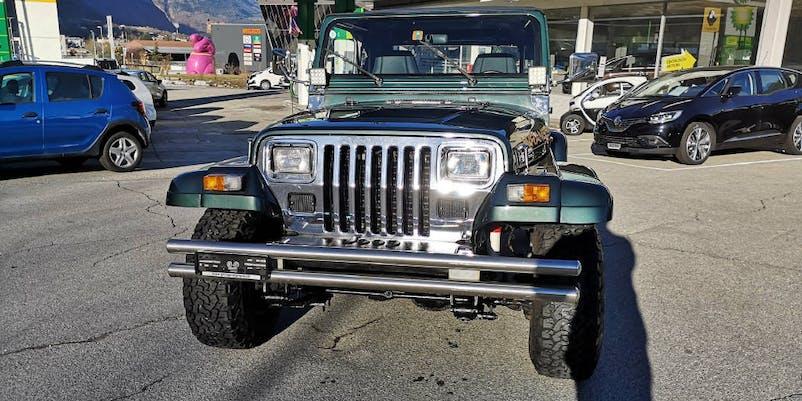 Jeep Wrangler 4.0 242'000 km CHF16'900 - buy on carforyou.ch - 1