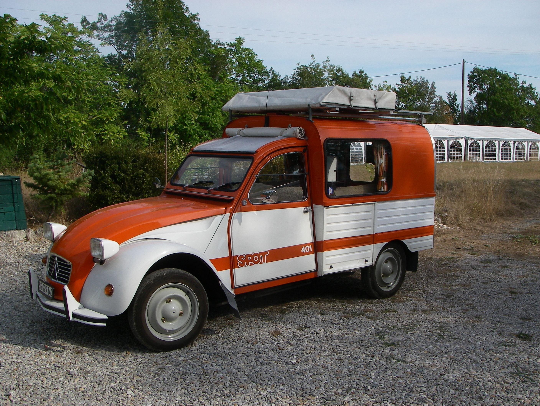 motorhome Citroën 2CV AK400