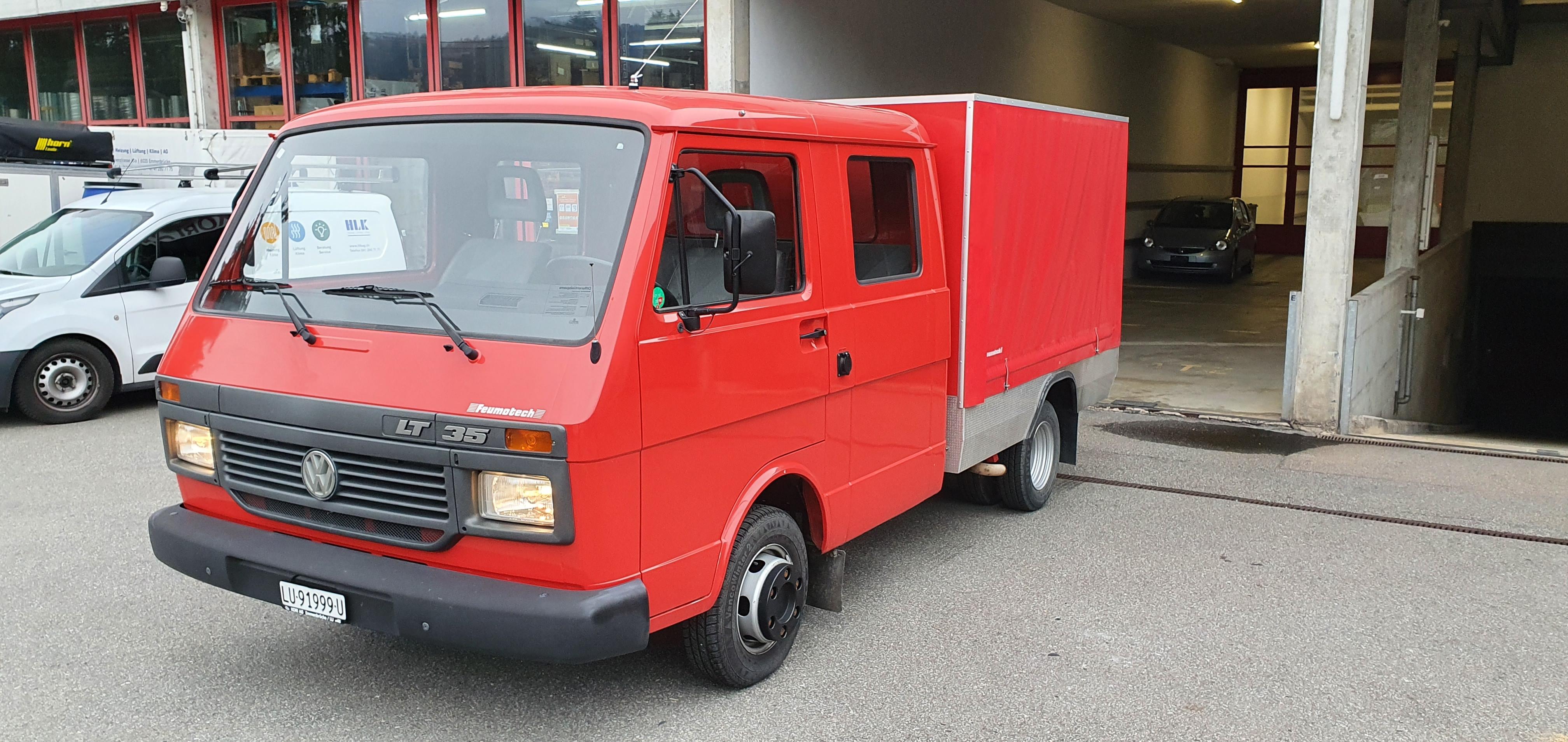 pickup VW LT 35 Kab.-Ch. 2950 2.4 Benzin, frisch ab MFK