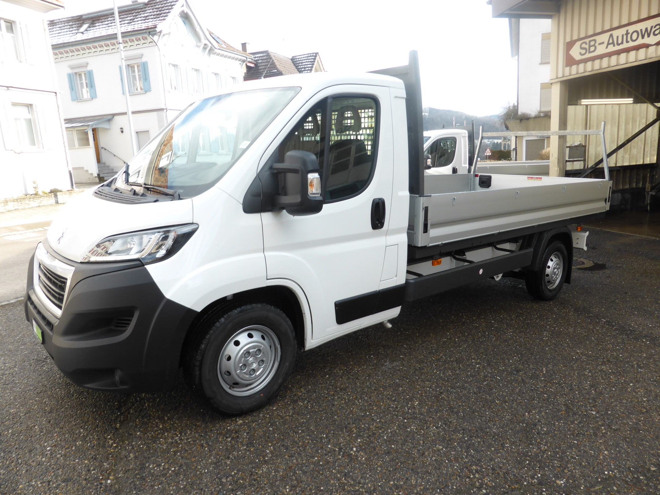 pickup Peugeot Boxer L3 Pritsche Mod 2020 140 Ps.Heavy 3.5 To Ahk!!!!