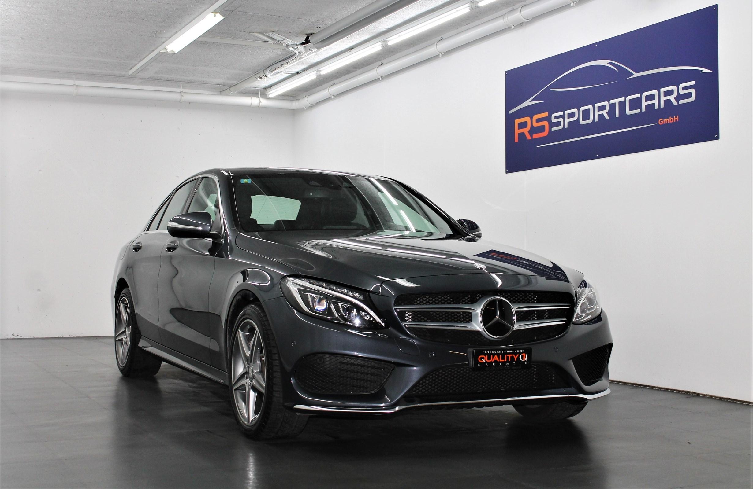 Buy Used Car Sedan Mercedes Benz C Klasse C 250 Bluetec Amg Line 4matic 7g Tronic 47750 Km At 33900 Chf On Carforyou Ch