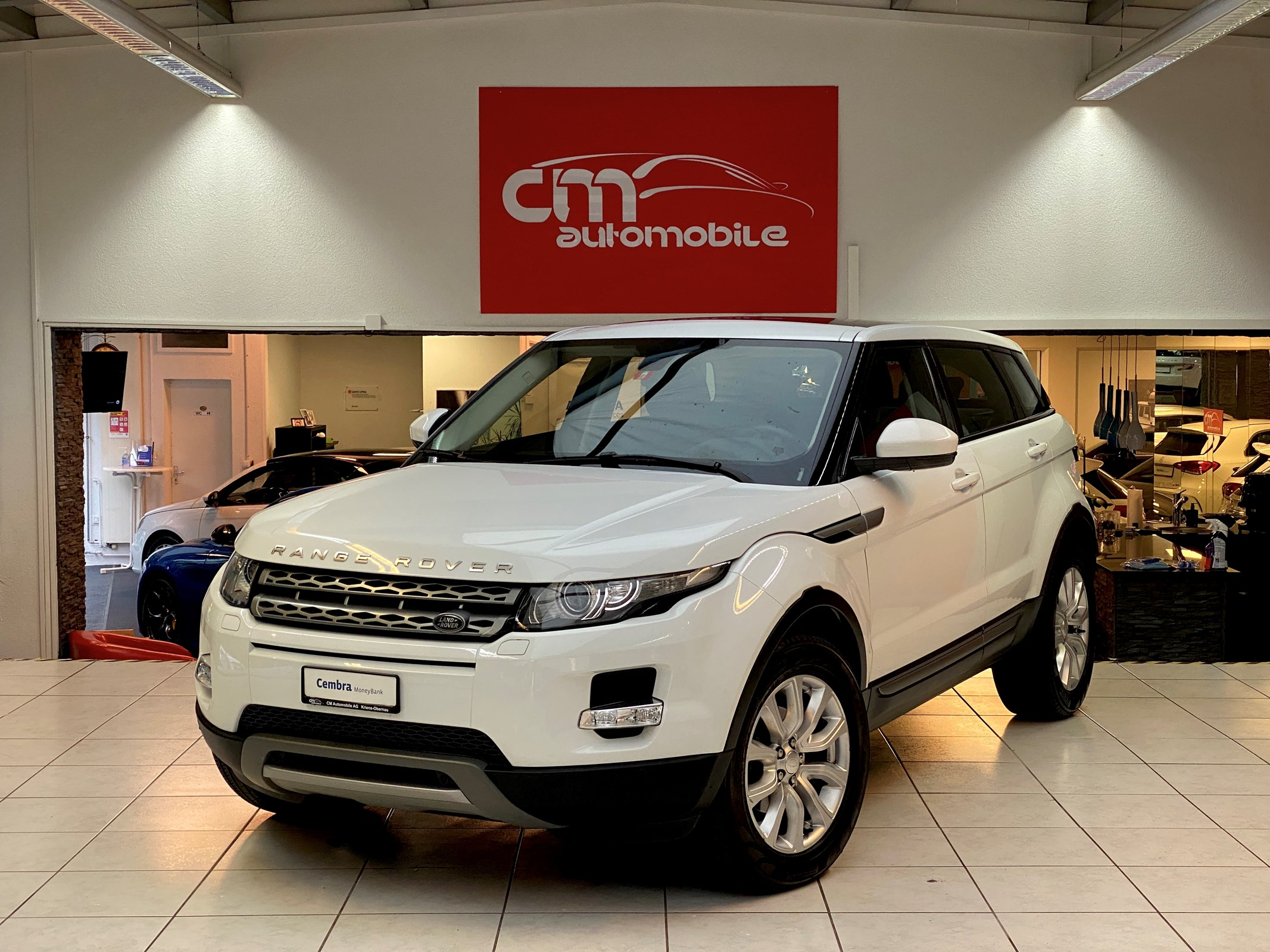Buy Used Car Suv Land Rover Range Rover Evoque 2 2 Sd4 Pure 109500 Km At 23500 Chf On Carforyou Ch