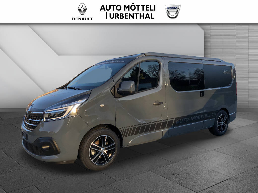 bus Renault Trafic Grand Spacenomad 2.0 dCi Blue 170