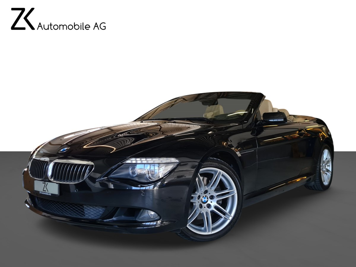 cabriolet BMW 6er 650i Steptronic M-Sportpaket
