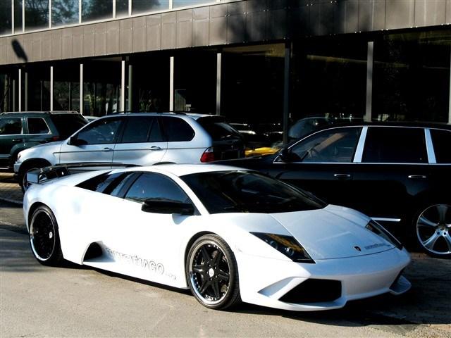sportscar Lamborghini Murciélago MURCIÉLAGO Murciélago 6.2 Coupé