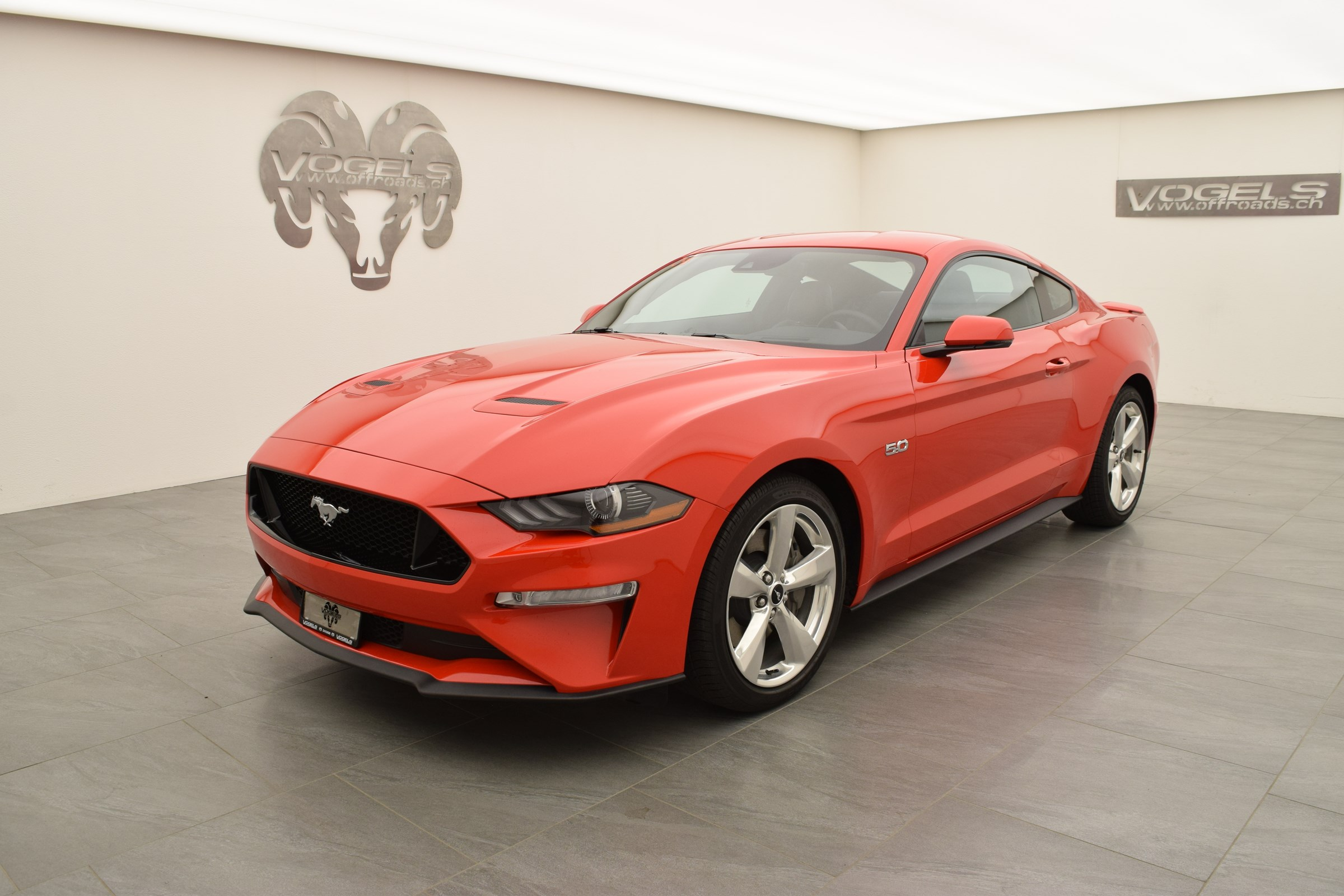 Buy New Car Coupe Ford Mustang 5 0 Gt Fastback 1 Km At 57800 Chf On Carforyou Ch