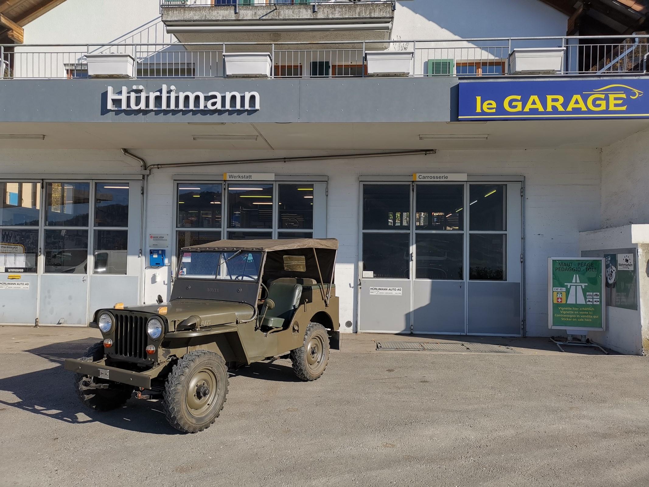 suv Jeep CJ Willys