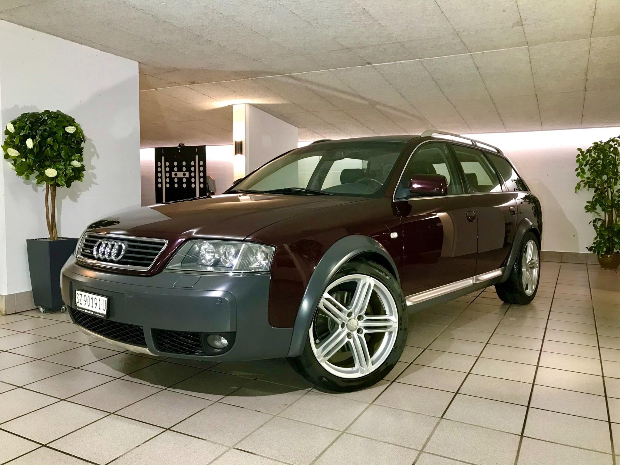 suv Audi A6 Allroad 2.5TDI quattro