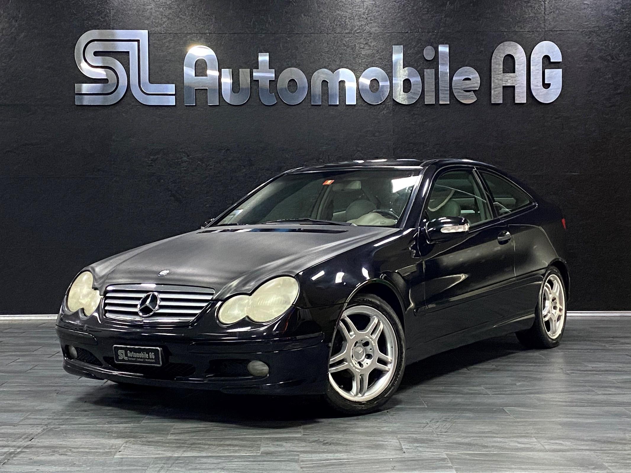 coupe Mercedes-Benz C-Klasse C 200 Kompressor