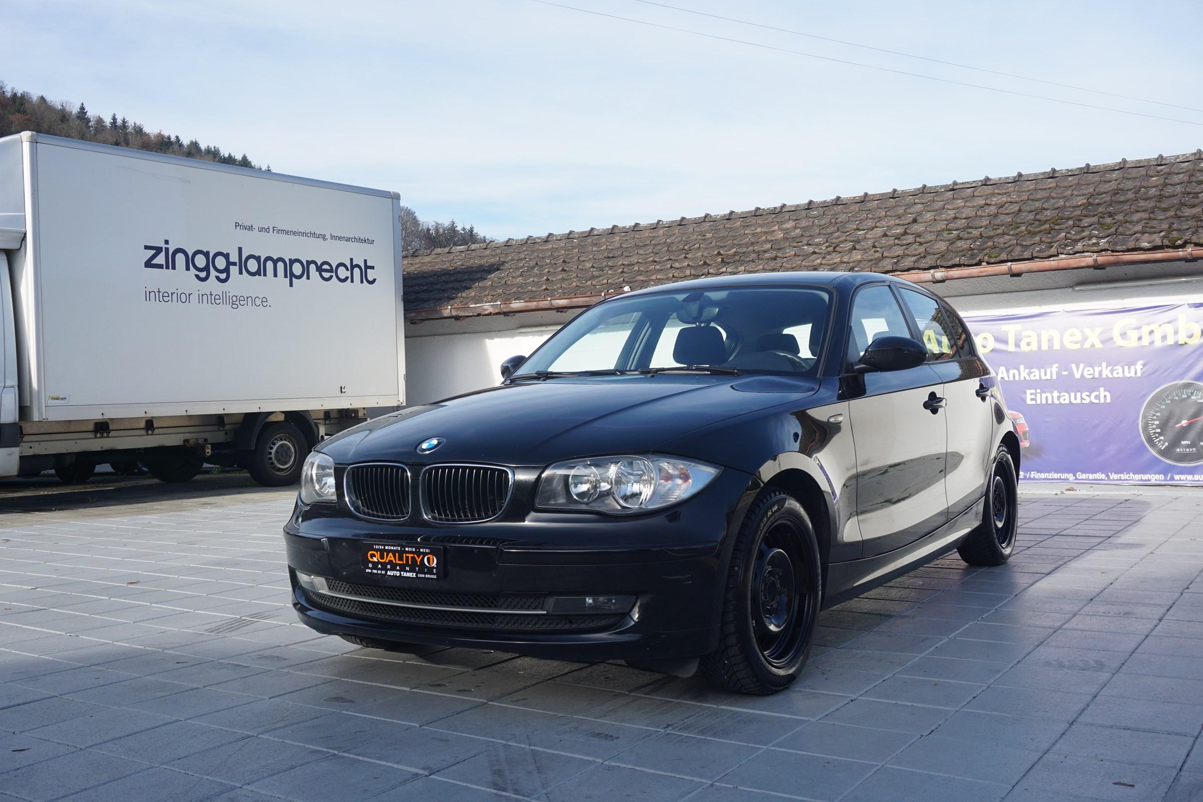 saloon BMW 1er 116d