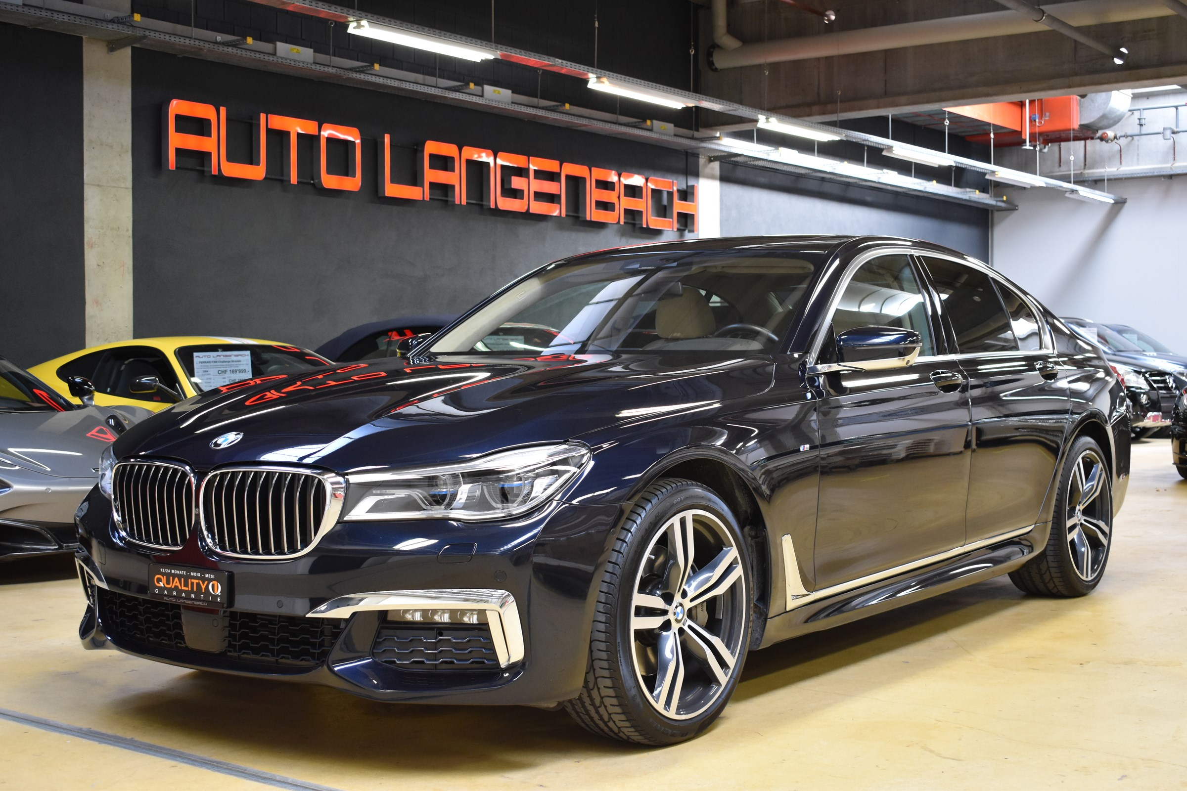 saloon BMW 7er 740d xDrive Steptronic