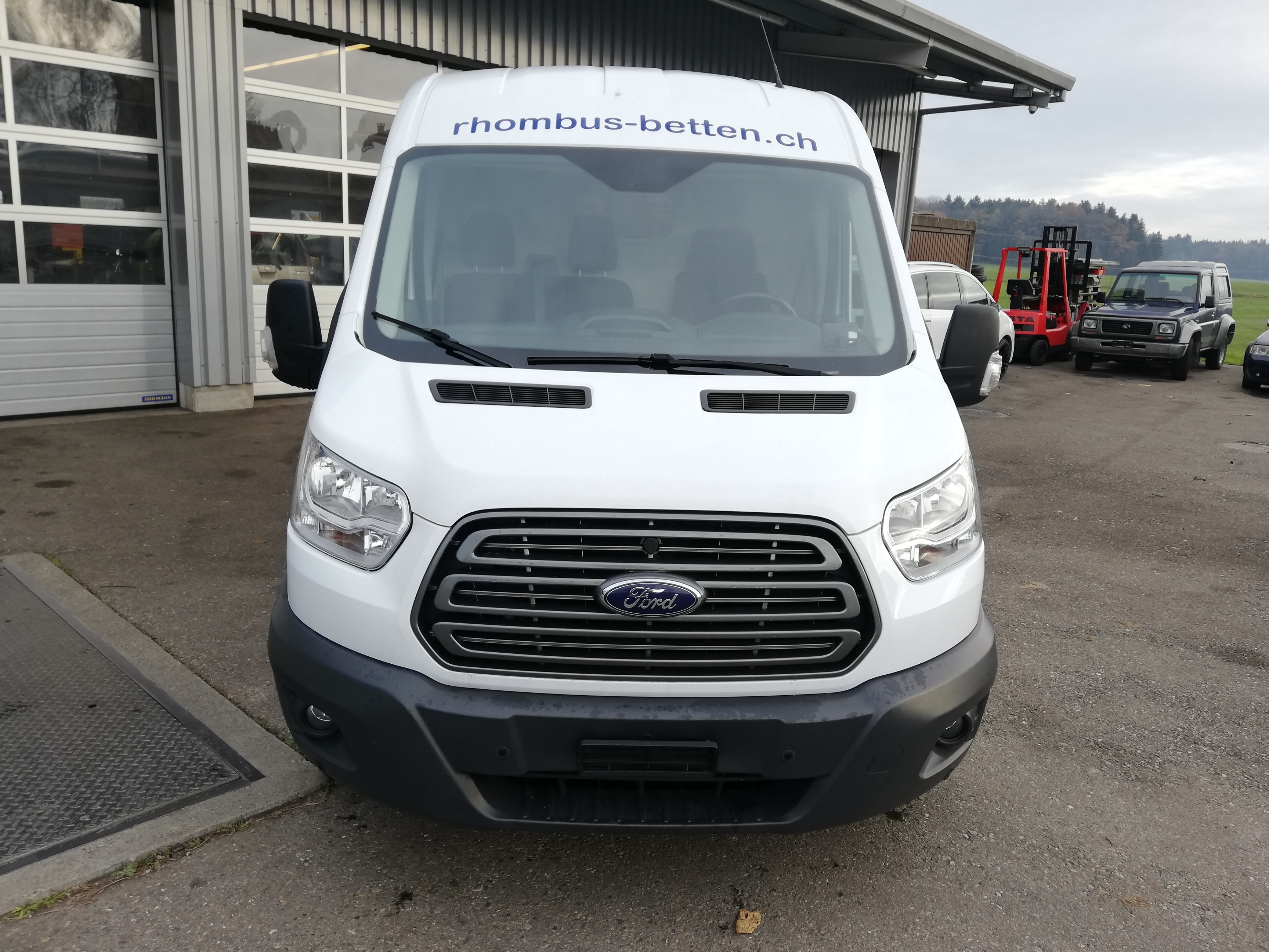pickup Ford Transit Trend 350 L3H2
