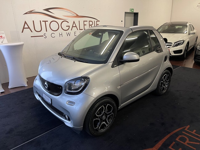 cabriolet Smart Fortwo passion twinmatic * Cool & Media * Navigation * Bluetooth *
