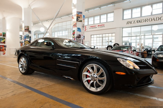 coupe Mercedes-Benz SLR US