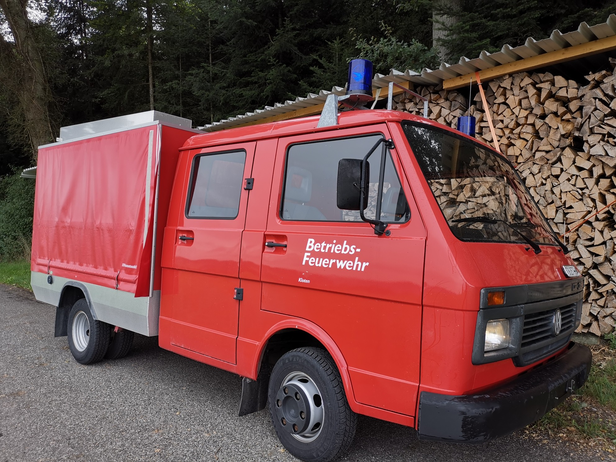 pickup VW LT 35 Feuerwehrfahrzeug Doppelkab. 8900 km