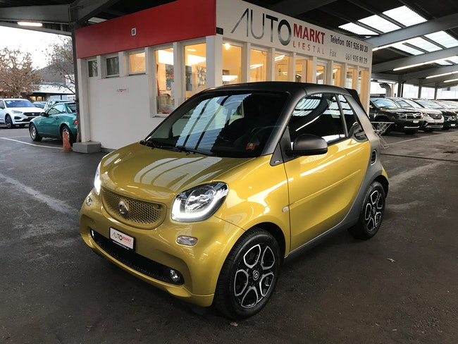 cabriolet Smart Fortwo prime twinmatic