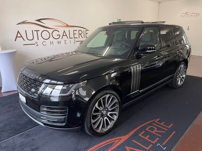 suv Land Rover Range Rover 5.0 V8 S/C SV AB Dynamic Automatic * Fond Entertainment * TOP *