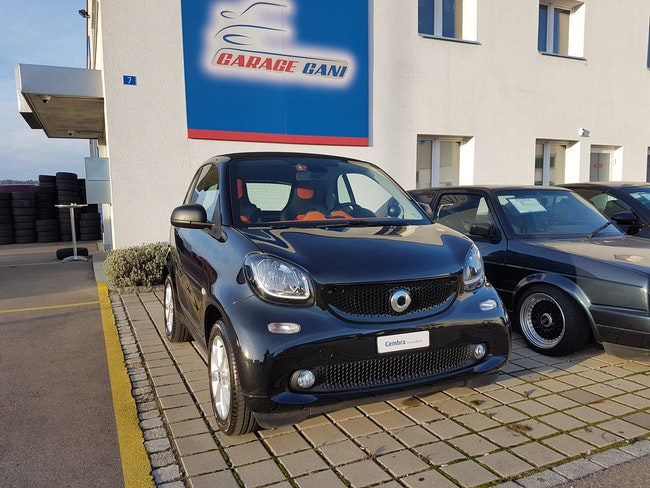 saloon Smart Fortwo citypassion twinmatic