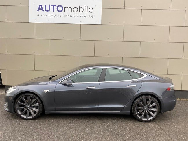 saloon Tesla Model S 75 D