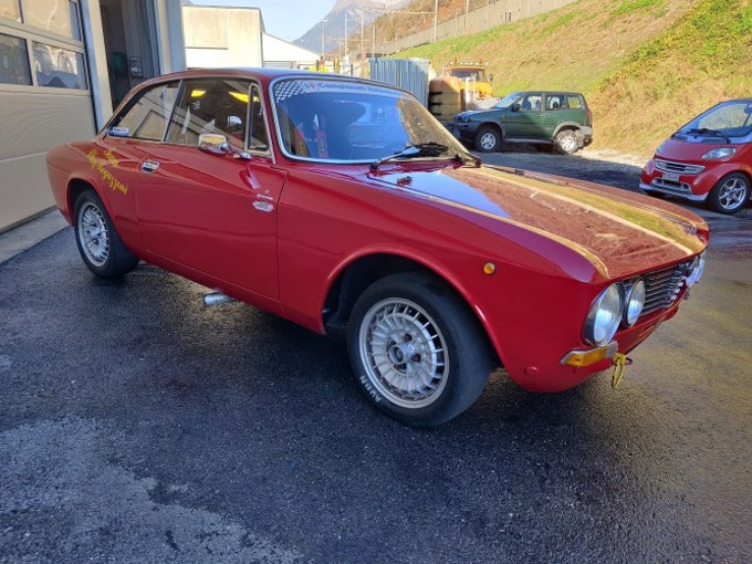Alfa Romeo GT 1600 Junior 1'000 km CHF31'500 - kaufen auf carforyou.ch - 1