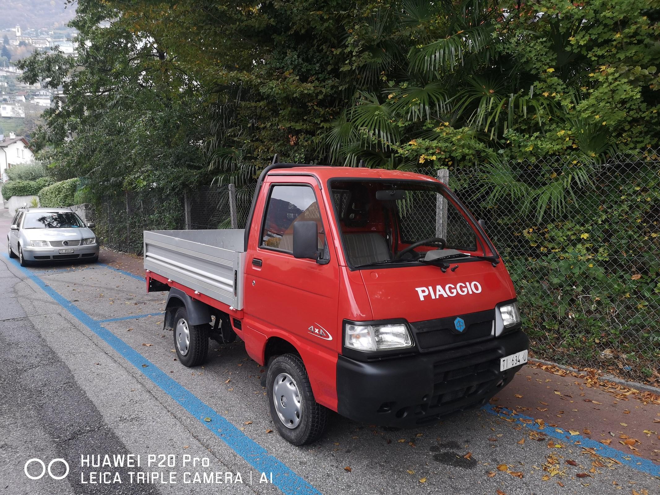 pickup Piaggio Porter 1.3-16 Big Deck 4x4