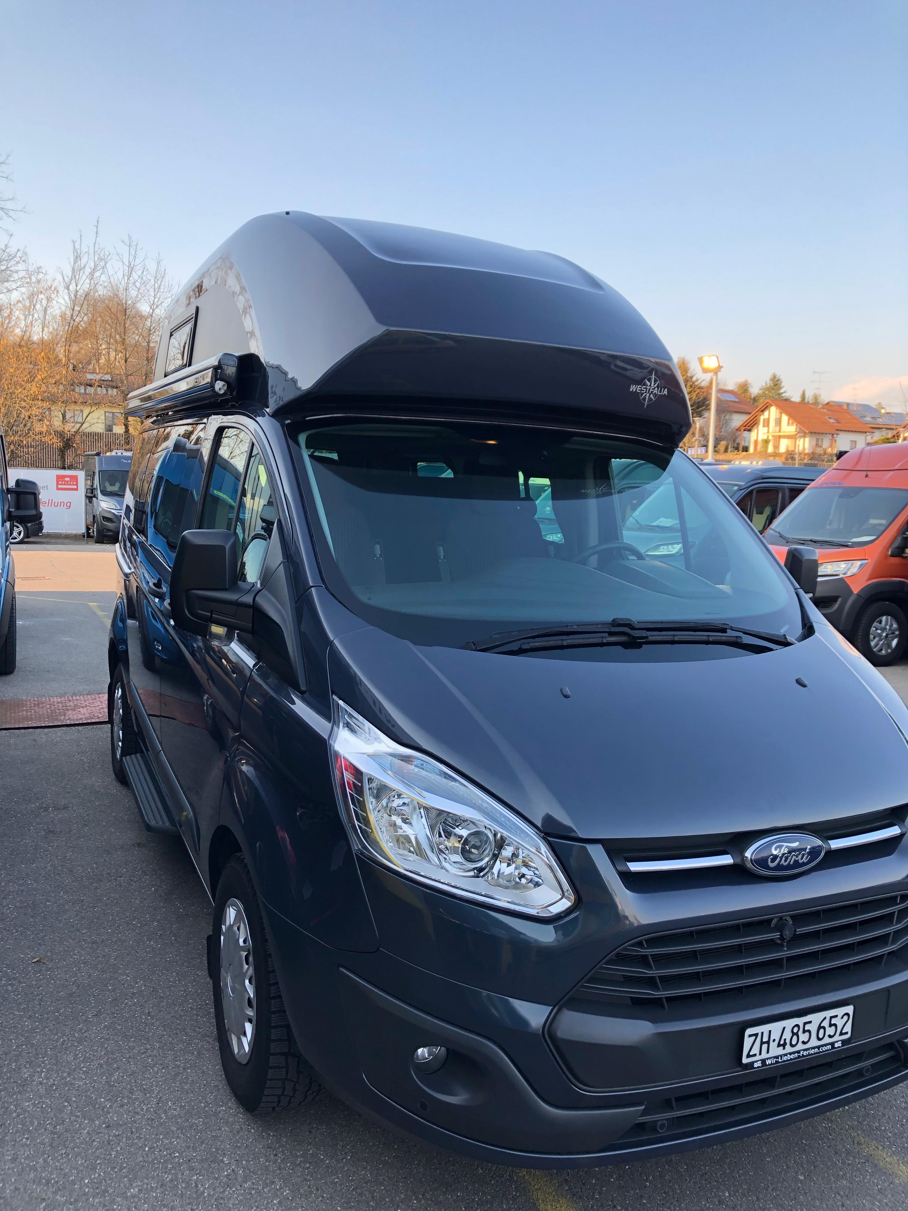 motorhome Ford Transit Custom