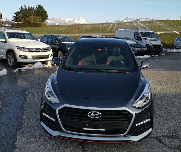 Hyundai i30 1.6 Turbo Vertex 69'000 km CHF15'800 - acheter sur carforyou.ch - 1
