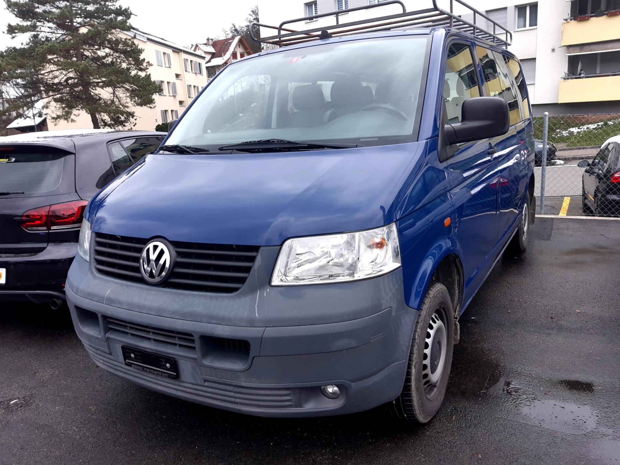 pickup VW T5 9 Plätzer nur 97000Km Benziner ab MFK